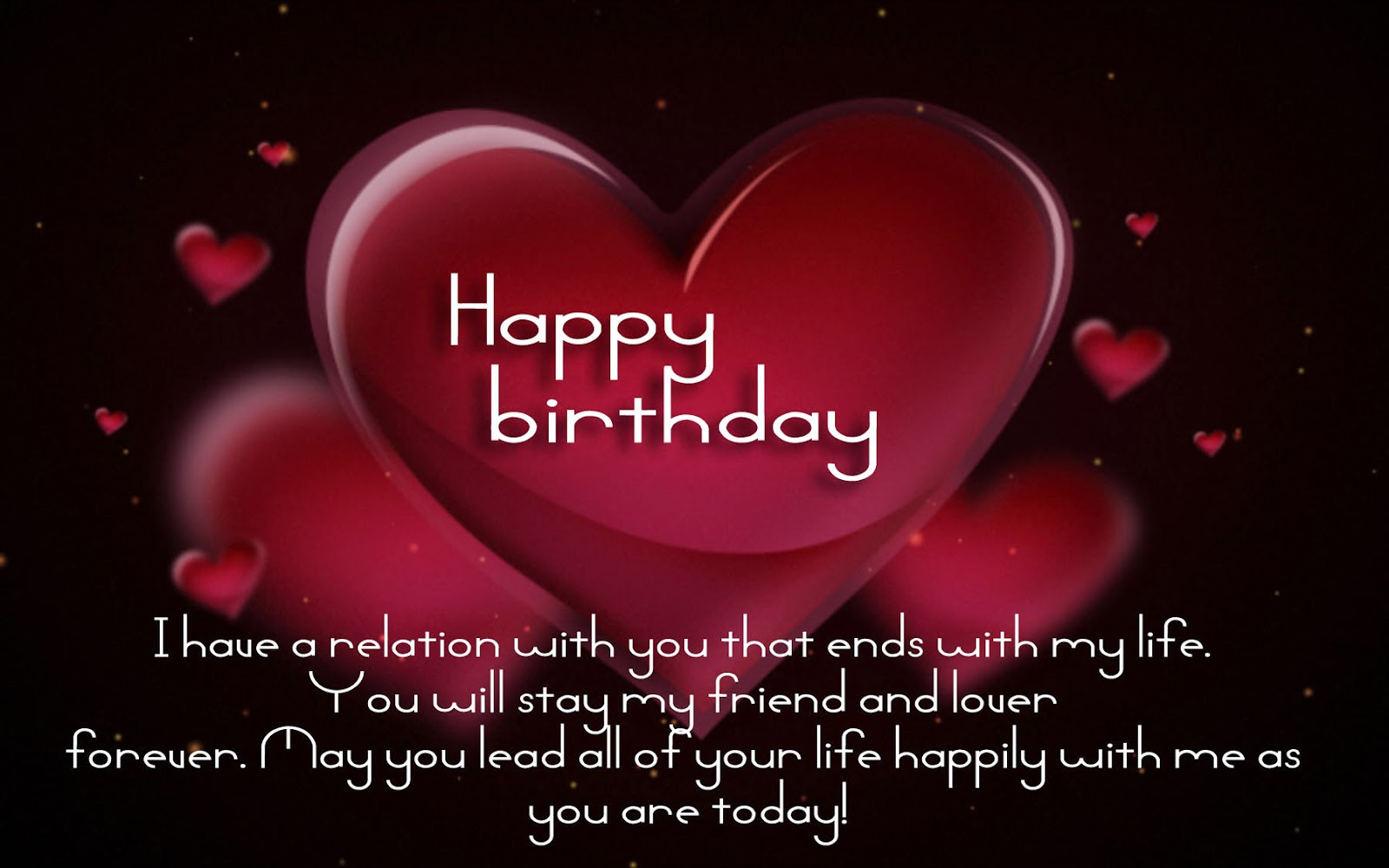 Happy Birthday the best collection of romantic birthday wishes for