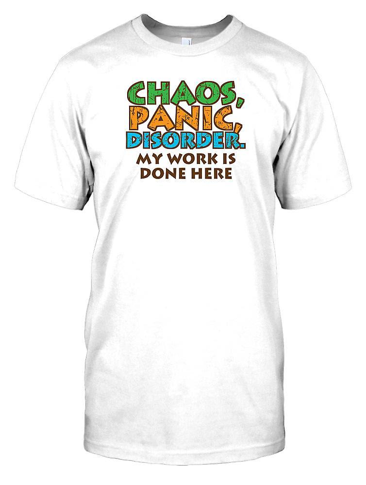 Chaos Panik Störung Die Meine Arbeit Hier Lustige Spruch Kinder