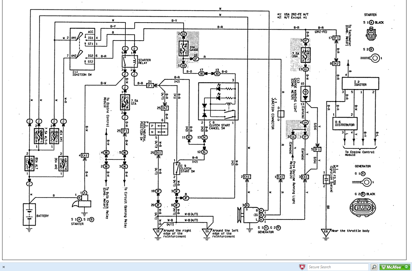 Cd8 95 Lexus Es300 Fuse Box Diagram Wiring Resources