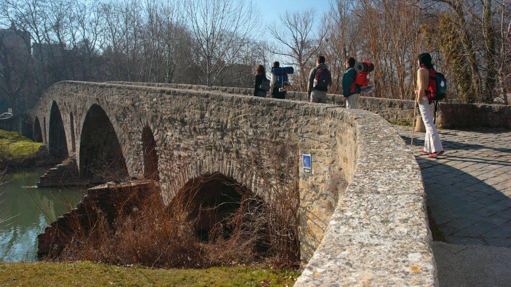 Resultado de imagen de Puente de la Magdalena.Pamplona