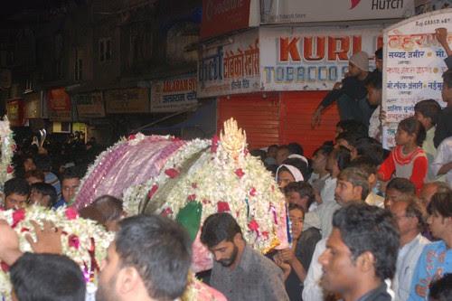 Imam Hussains Taboot at Bandra East by firoze shakir photographerno1