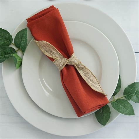 "150 pcs 17"" Polyester Napkins Wedding Table Cheap Supplies"