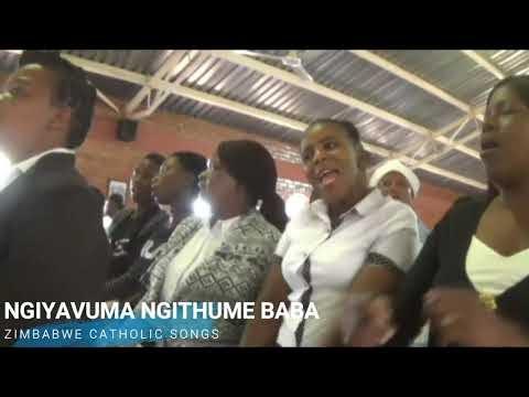 Zimbabwe Catholic Ndebele Songs - Ngiyavuma Ngithume Baba