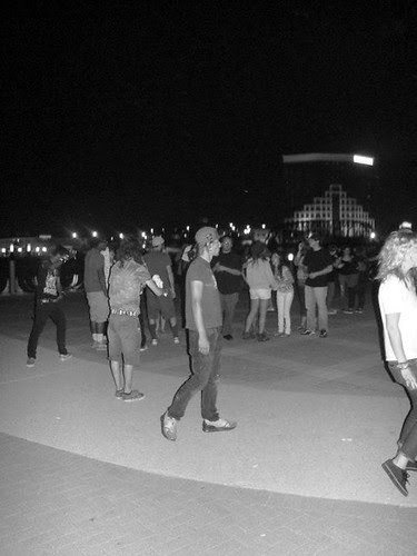 DJ's entertain on Shreveport's river front / photo Michael Britton by trudeau