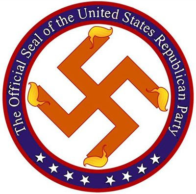 FORGET THE ELEPHANT... This is the NEW logo for the Republican Party.