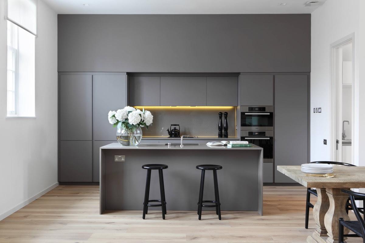 24 Gorgeous Grey Kitchens