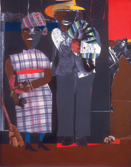 FENCES was inspired by the Romare Bearden collage, Continuities.