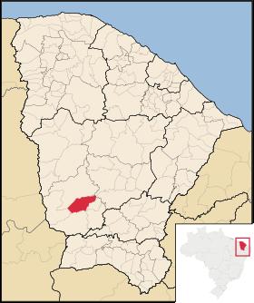 Localização de Arneiroz