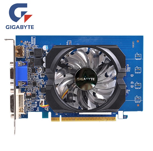 Gigabyte NVIDIA GeForce GT730 2GB DDR5 GV-N730D5-2GI PCI-E Video Card HDMI DVI