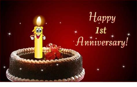 1st Wedding Anniversary Wishes for Wife   Sample Birthday
