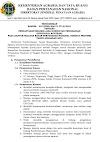 Lowongan Kerja Kementerian Maret 2021 Lulusan S1 Semua Jurusan Di Kementerian Agraria dan Tata Ruang/BPN Tahun 2021