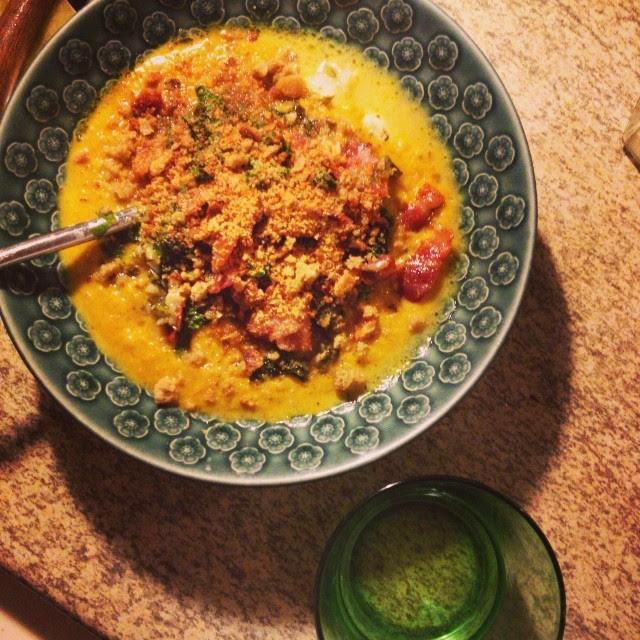 20/10.2013 - soup for dinner.