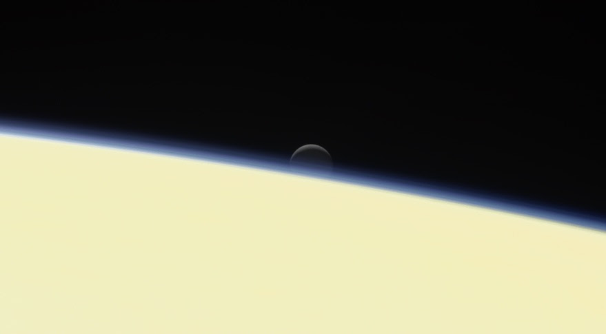 Cassini Saturn Enceladus