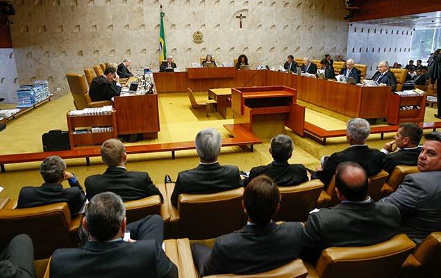 Sessão no plenário do STF para decidir se mantém ou não liminar que determina o afastamento de Renan Calheiros da presidência do Senado