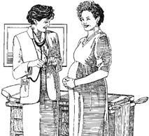 mujer cargando a un bebé