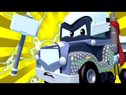 özel Yenilmezler Carl Thor Oluyor Tomun Boya Dükkanı Araba şehrinde