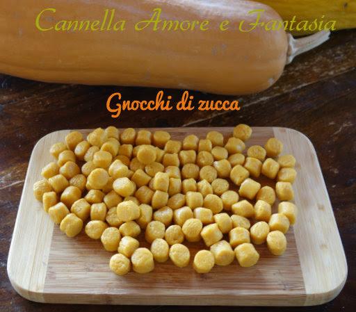 foto di gnocchi alla zucca e patate