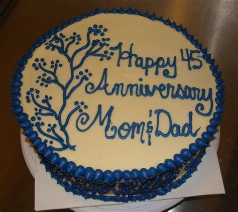 Door County Custom Cakes and Cookies: Linda and Giz's 45th