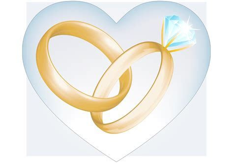 Wedding Rings Vector   Free Vector Art at Vecteezy!