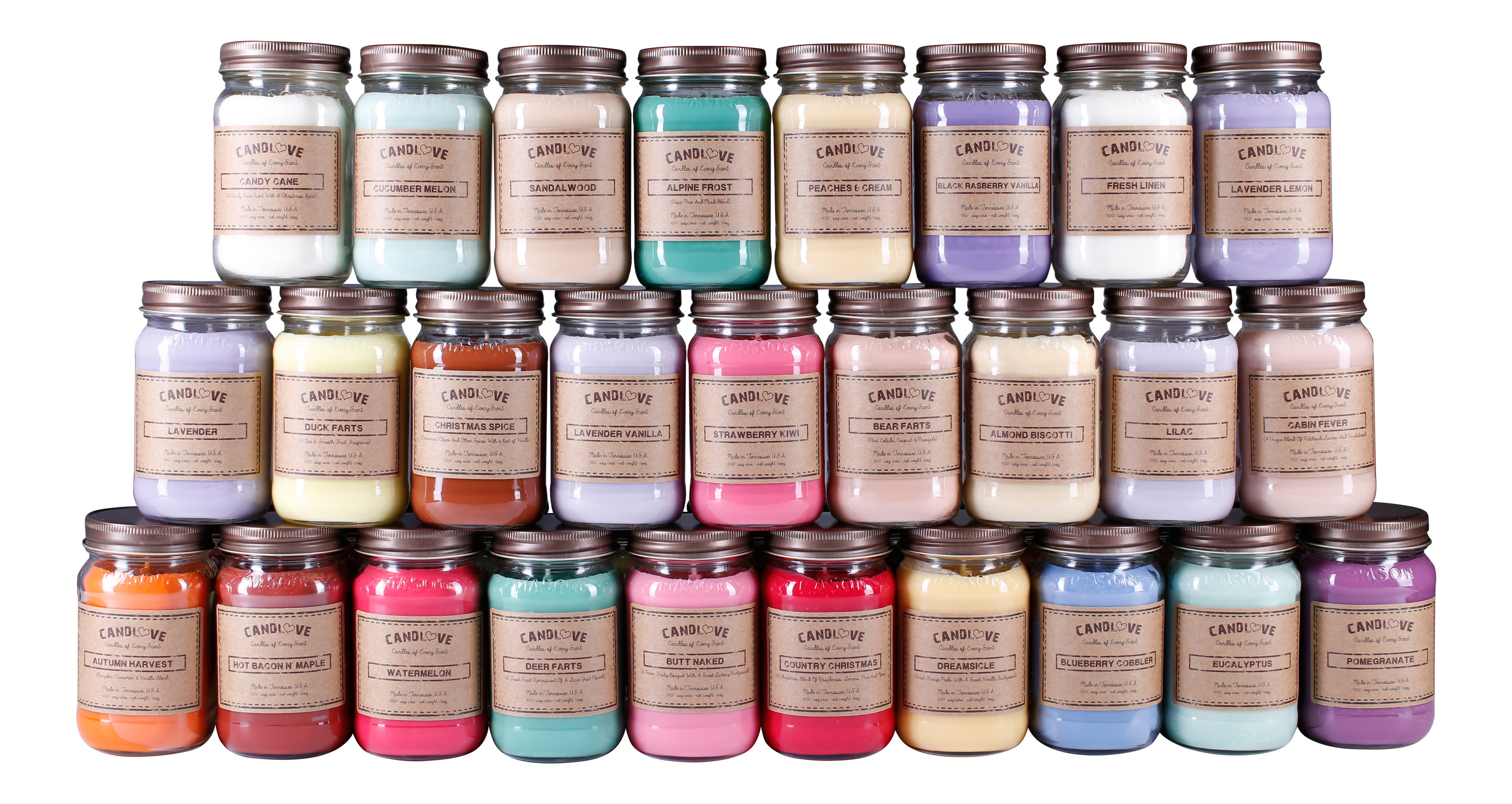 CANDLOVE Mason Jar Soy Candle Review | Parenting Patch