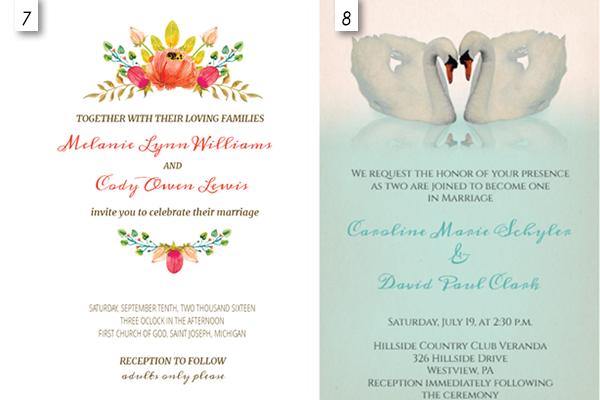 Editable Wedding Invitation Templates Free - Wedding Invitations