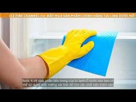 Cách vệ sinh tủ lạnh đơn giản và hiệu quả