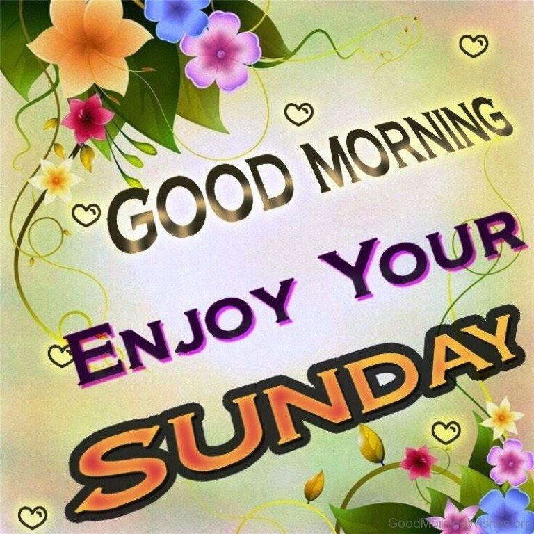44 Sunday Good Morning Wishes