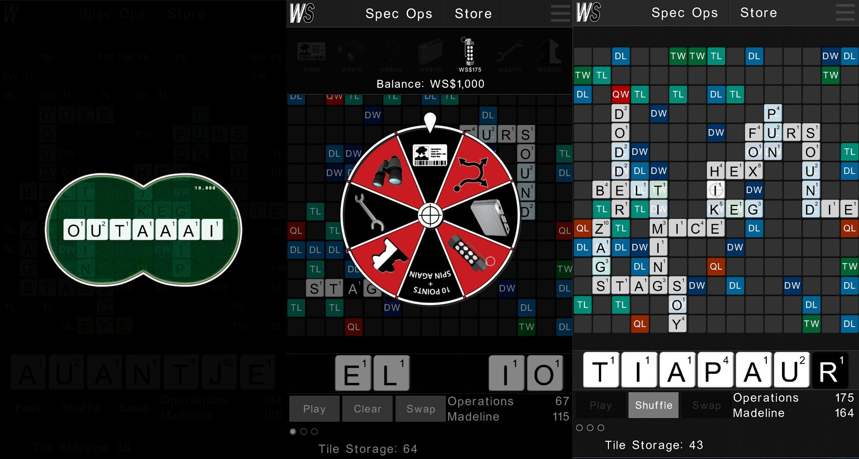 Wordspionage - Android, iOS - $1.99