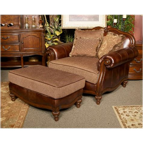 ashley furniture claremore antique chair