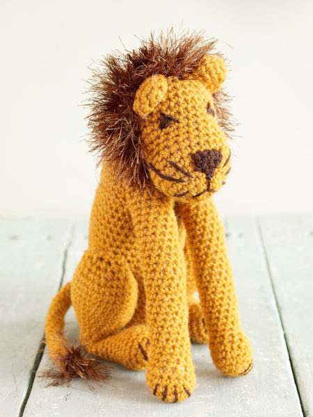 Leo The Lion Pattern Free Crochet Pattern