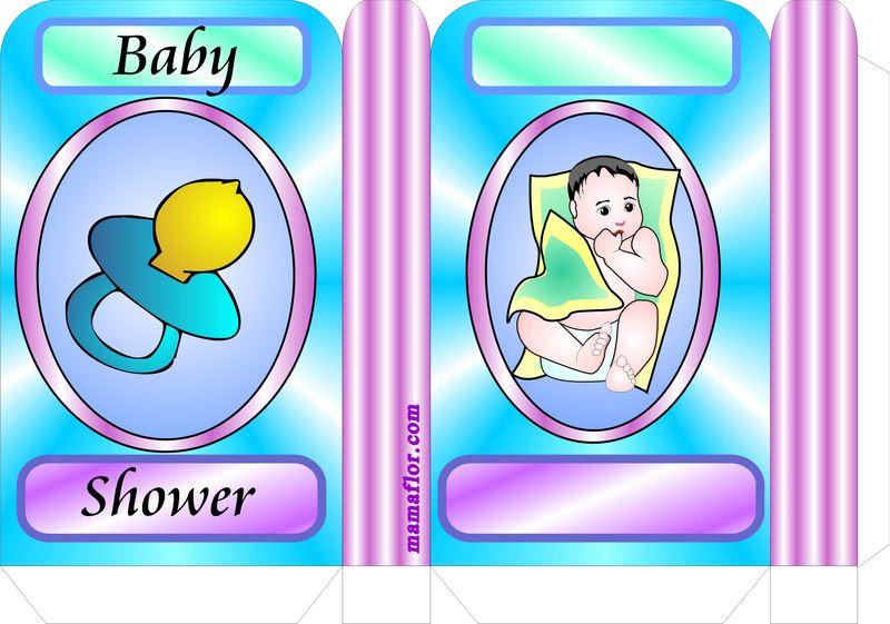 MOLDE BABY SHOWER