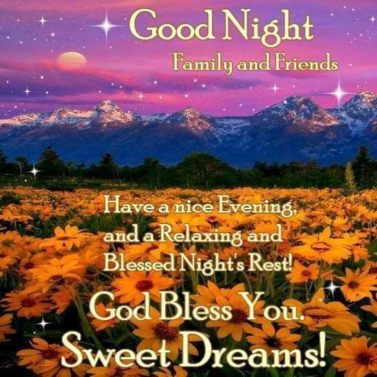 Goodnight Family And Friends Pictures Photos And Images For