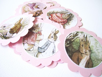 Classic Peter Rabbit Favor Tags