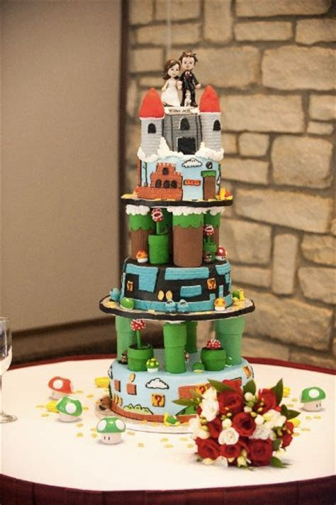 11 Beautiful Game Themed Wedding Cakes   BC GB   Gaming