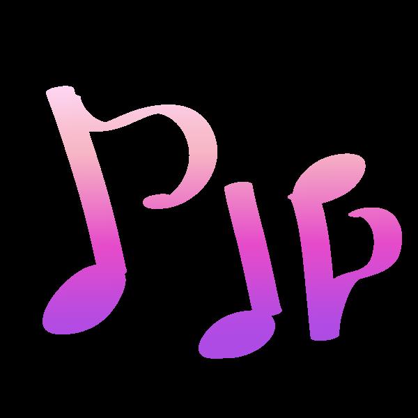 音符カラフルのイラスト かわいいフリー素材が無料のイラストレイン
