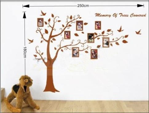 Buy cheap New arrive christmas gift Romantic photo tree wall ...