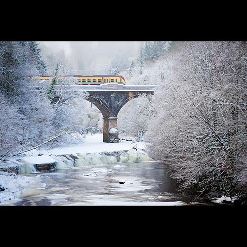 Avon Rail Bridge por PMMPhoto