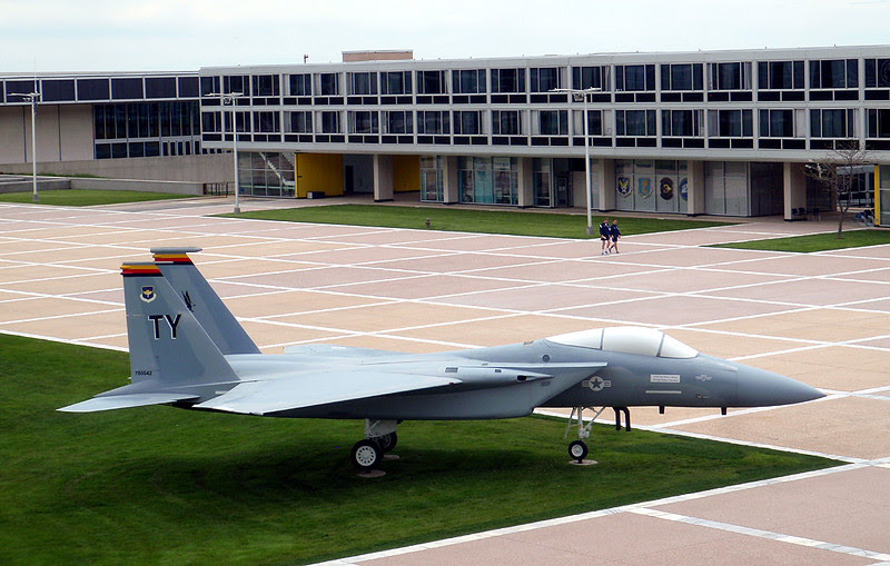 United States Air Force Academy, Cadet Chapel, Campus Square, F-15 Eagle