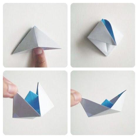 hacer unn barco de papel