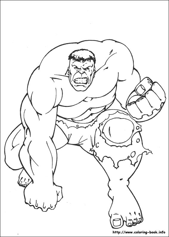400+ Coloring Book Hulk HD