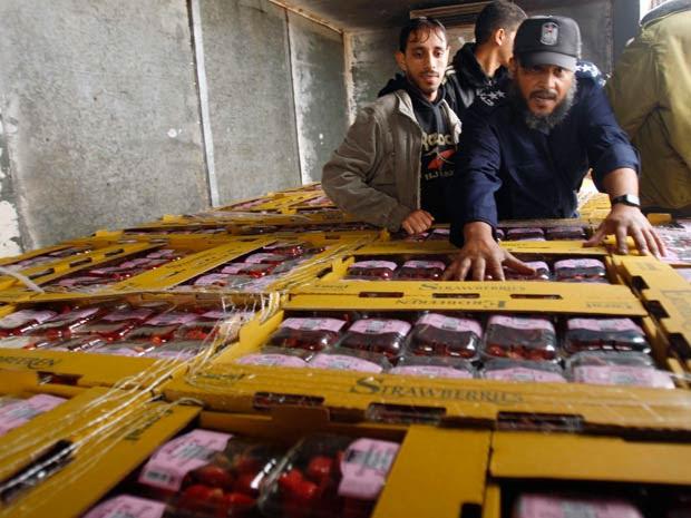 Israel permite exportação a partir de Gaza pela 1ª vez em um ano