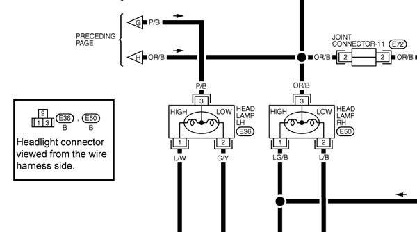 2001 Nissan Maxima Wiring Diagram