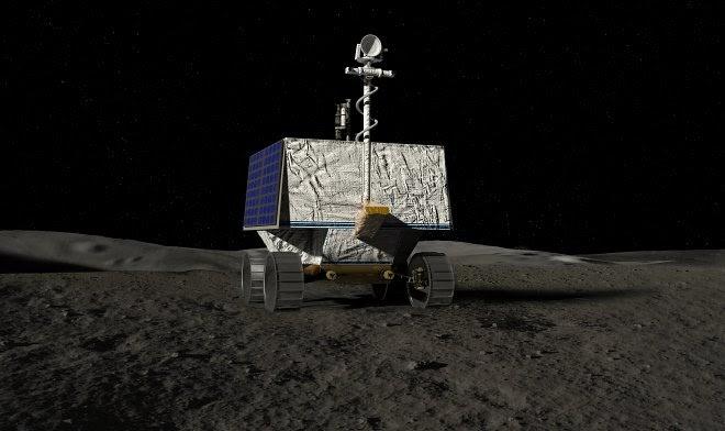Луноход НАСА через два года отправится на поиски воды на южном полюсе Луны