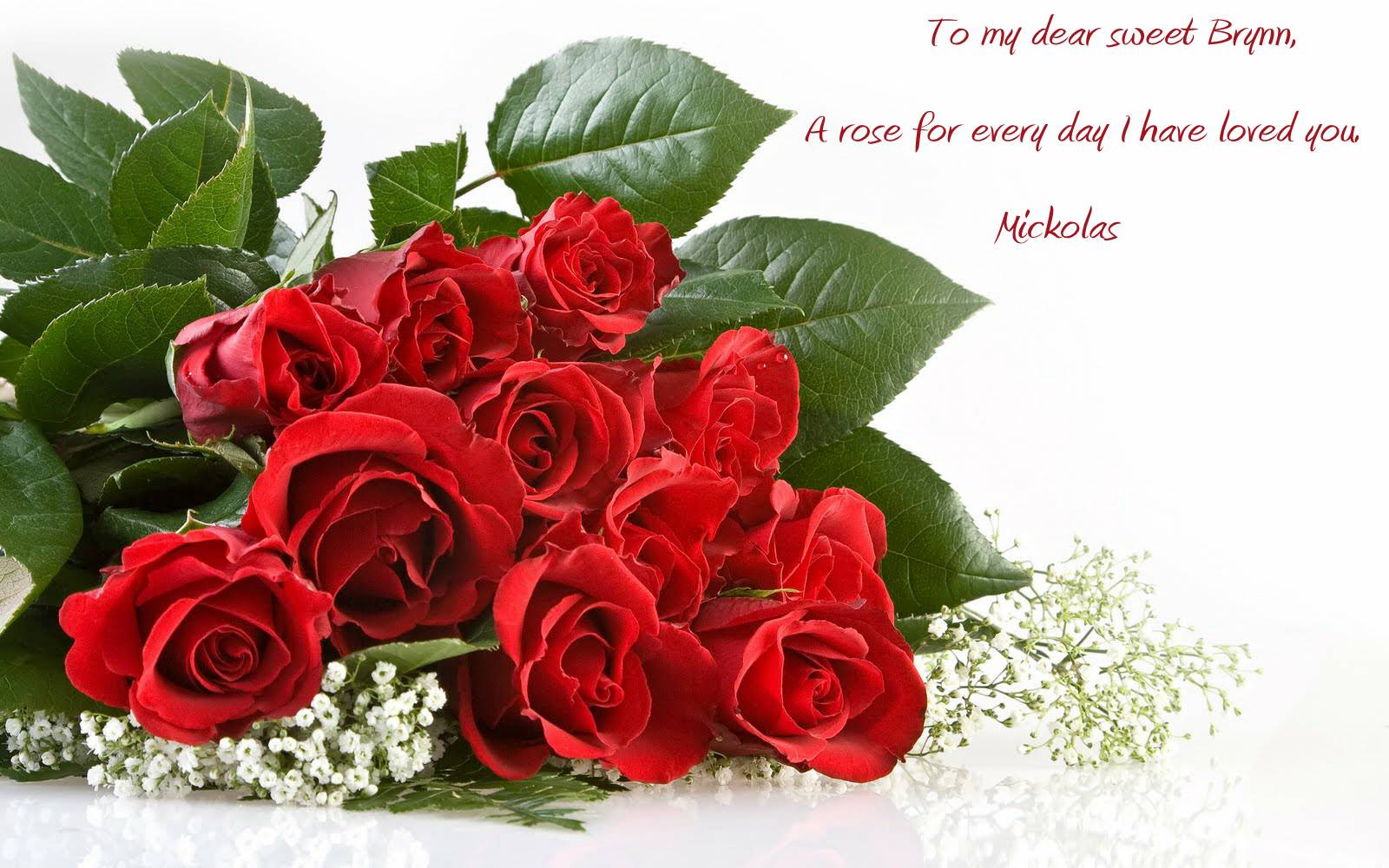 For The Love Brynn images Flowers Quote HD wallpaper and background photos
