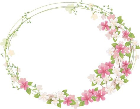 floral frame png   designing projects