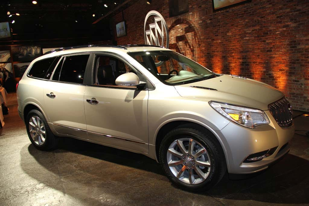 Buick makes major design changes, inside and out,with the 2013 Enclave ...
