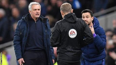 Jose Mourinho criticises VAR despite Tottenham win against Manchester City
