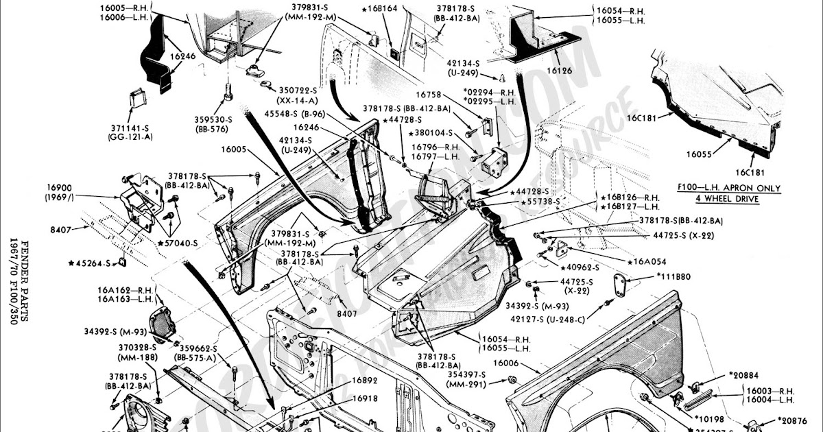 Ford F350 Parts Catalog