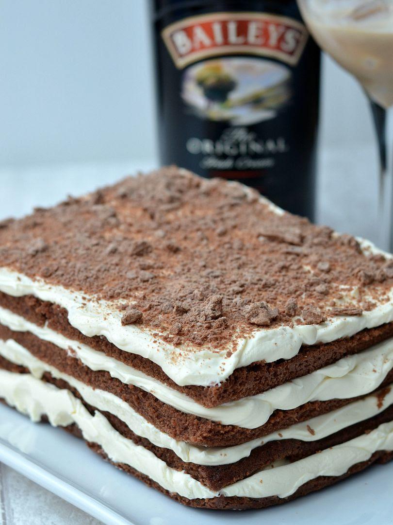 Baileys Chocolate Lasagne