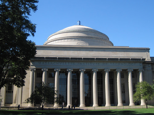 The Doctor returns: the TARDIS on the Great Dome at MIT